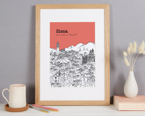Personalised Siena Print