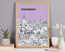 Load image into Gallery viewer, Personalised Stockholm Print