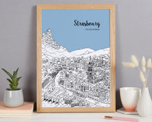Load image into Gallery viewer, Personalised Strasbourg Print