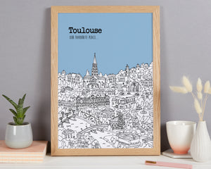 Personalised Toulouse Print