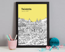 Load image into Gallery viewer, Personalised Valencia Print