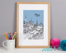 Load image into Gallery viewer, Personalised Vienna Print