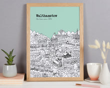 Load image into Gallery viewer, Personalised Walthamstow Print