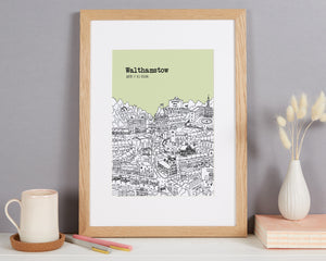 Personalised Walthamstow Print