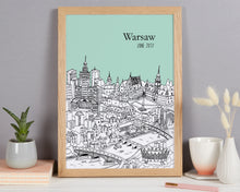 Load image into Gallery viewer, Personalised Warsaw Print