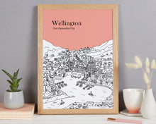 Load image into Gallery viewer, Personalised Wellington Print