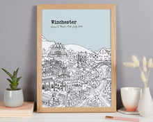 Load image into Gallery viewer, Personalised Winchester Print