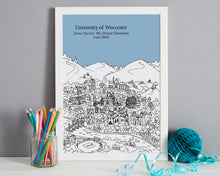 Load image into Gallery viewer, Personalised Worcester Graduation Gift
