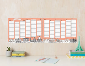 2020/2021 Academic Year Wall Planner