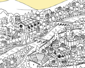 Personalised Carcassonne Print-2