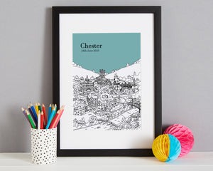 Personalised Chester Print-7