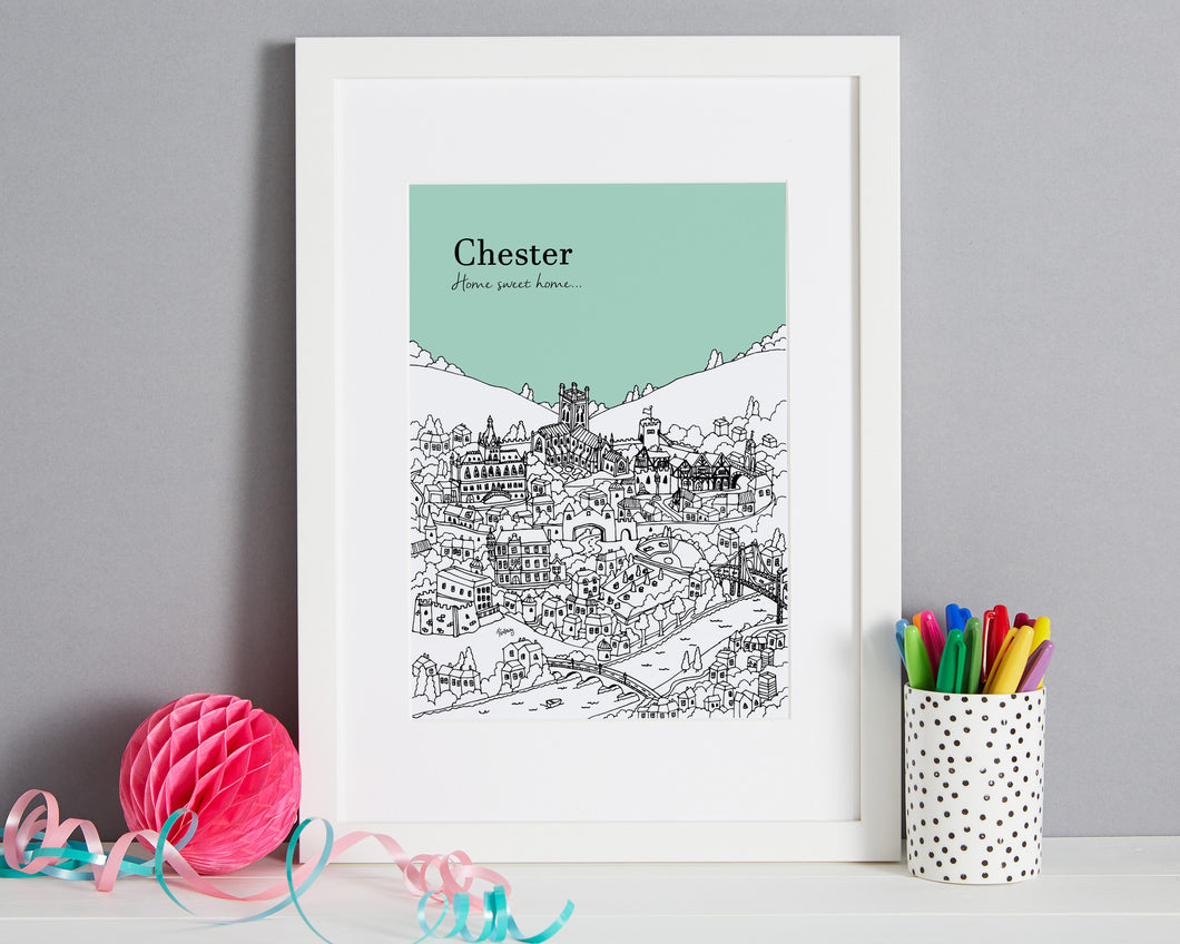 Personalised Chester Print-1