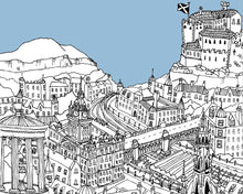 Load image into Gallery viewer, Personalised Edinburgh Print-2