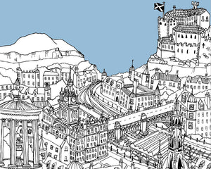 Personalised Edinburgh Print-2