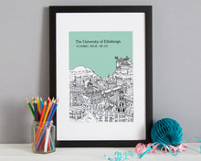 Load image into Gallery viewer, Personalised Edinburgh Graduation Gift