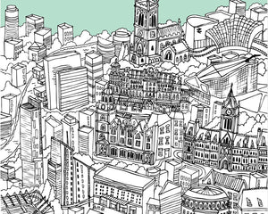Personalised Manchester Print-2