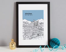 Load image into Gallery viewer, Personalised Aberdeen Print