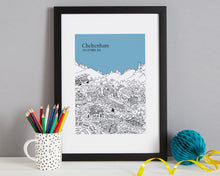 Load image into Gallery viewer, Personalised Cheltenham Print