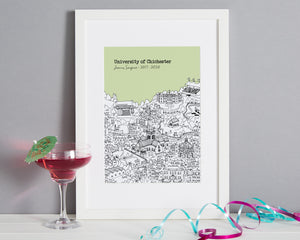 Personalised Chichester Graduation Gift