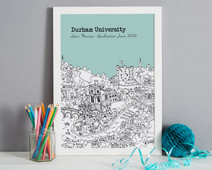 Personalised Durham Graduation Gift