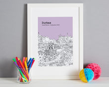 Load image into Gallery viewer, Personalised Durham Graduation Gift