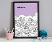 Load image into Gallery viewer, Personalised Lancaster Print
