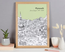 Load image into Gallery viewer, Personalised Plymouth Graduation Gift