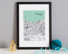 Load image into Gallery viewer, Personalised Plymouth Print