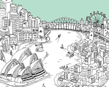 Load image into Gallery viewer, Personalised Sydney Print-2