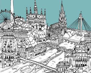 Personalised Vienna Print-2