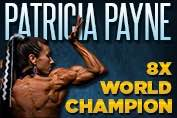 Patricia Payne 8x Undefeated World Champion