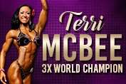 Terri McBee 3x World Champion