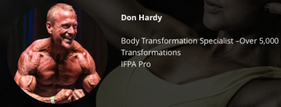 Don Hardy Profesional Drug Free Bodybuilder and Transformation Specialist