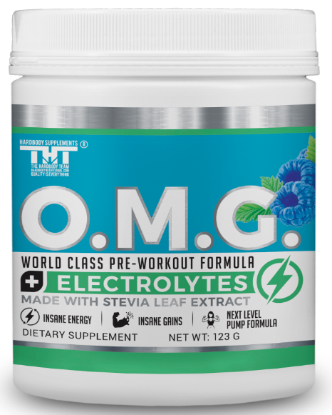 OMG Preworkout Drink for Hardcore Improvement & Performance.Boosts Energy,Motivation,Builds Muscle, Promotes Muscle Recovery,Focus