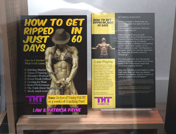 How To Get Ripped in Just 60 Days E-Book On Sale
