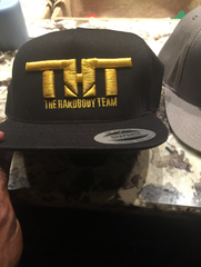 THT Cap-Black and Golden (Embroidered)