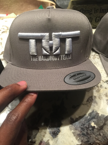 THT Cap-Grey and Silver (Embroidered)