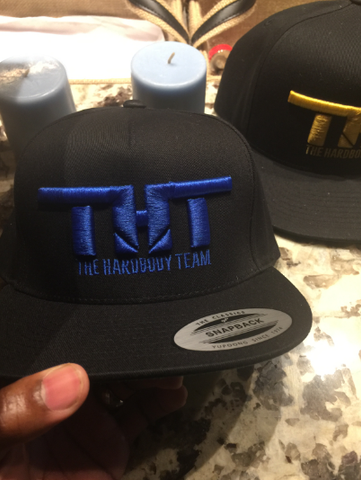 THT Cap-Black and Blue (Embroidered)