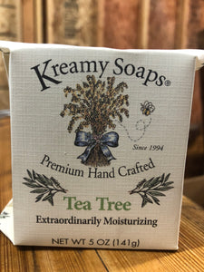 Tea Tree - Kreamy Soaps