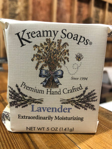 Lavender - Kreamy Soaps