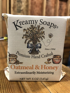 Oatmeal & Honey - Kreamy Soaps