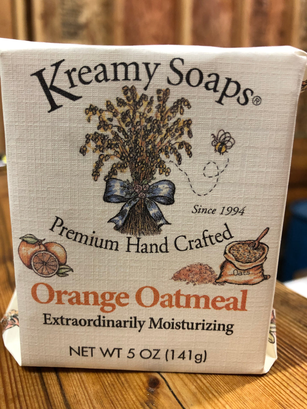 Orange Oatmeal - Kreamy Soaps