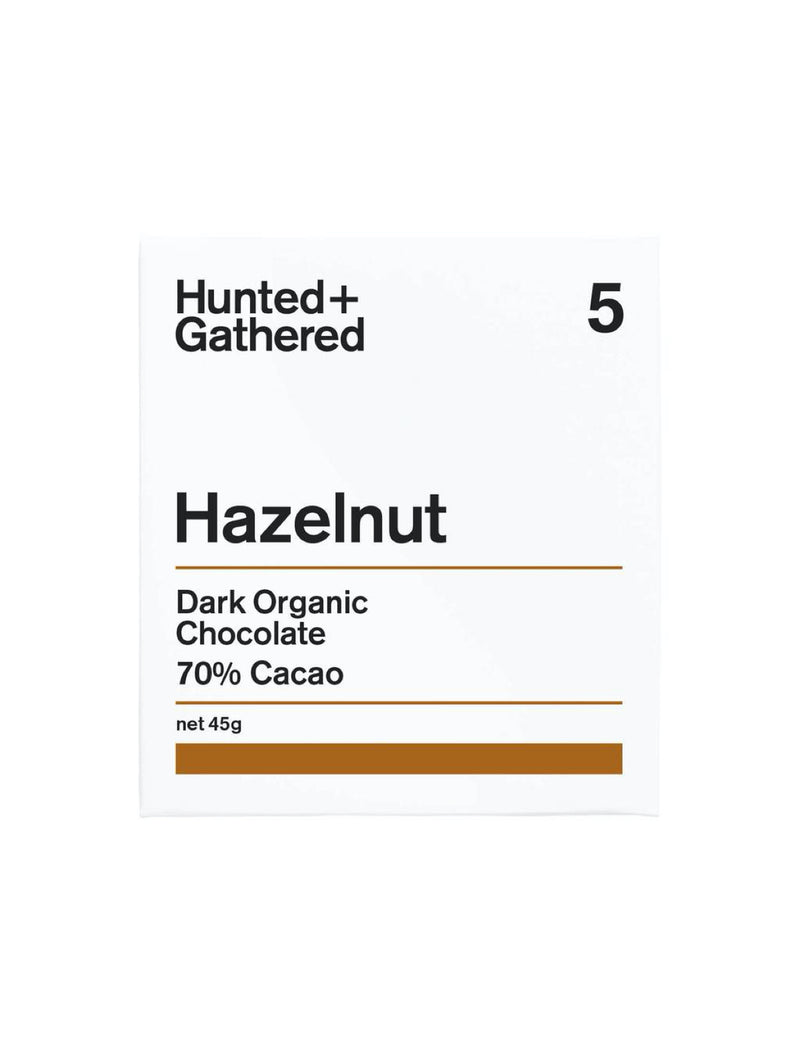 Hazelnut Chocolate by Hunted and Gathered Shop Online with Flowers from Flower me softly