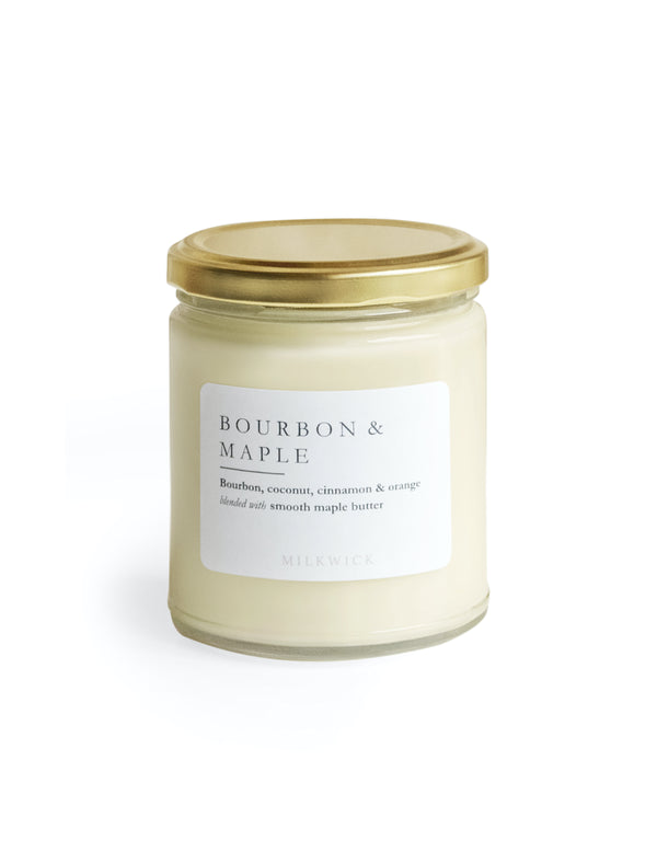 Bourbon and Maple Candle