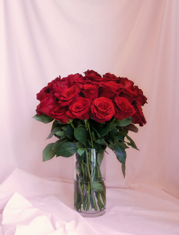 Red Velvet Rose Bouquet