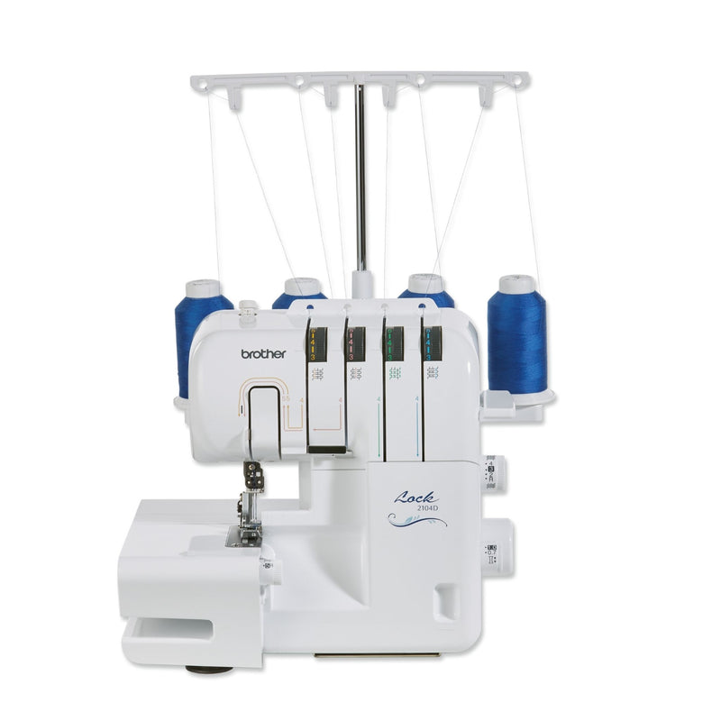 M&S Sewing Machines Brother 2104D Overlocker