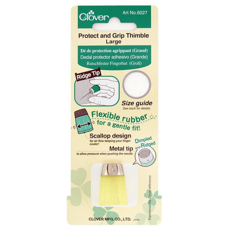 Clover Protect and Grip Thimble - Large