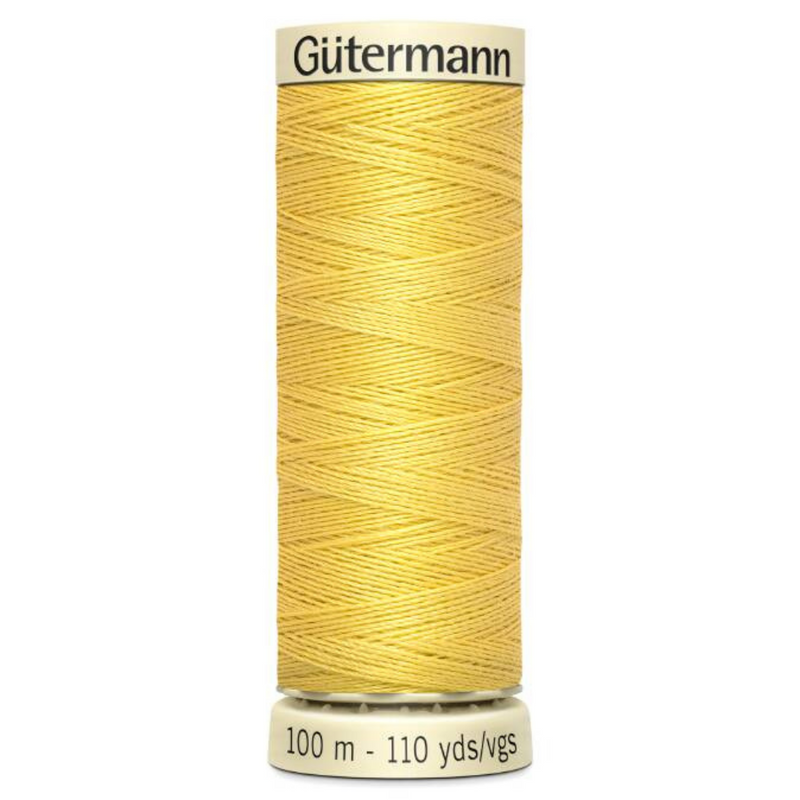 Guttermann 2T100\327: Banana Yellow Sew-All Thread: 100m