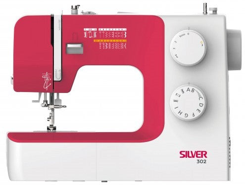 Silver Viscount 302 Sewing Machine