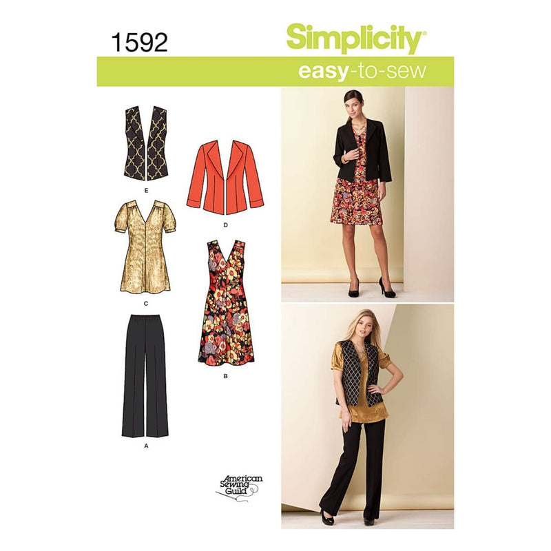 Simplicity Patterns Misses Separates, 8-10-12-14-16
